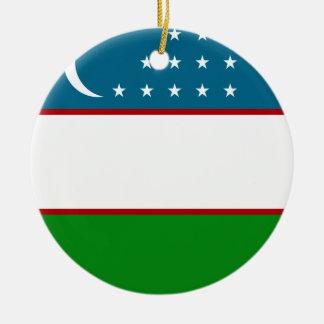 Uzbekistan Christmas Ornament