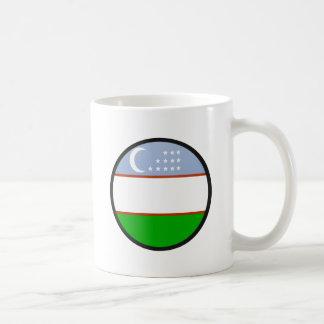 Uzbekistan quality Flag Circle Mug
