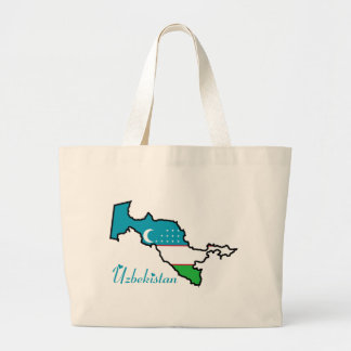 Uzbekistan Tote Bag