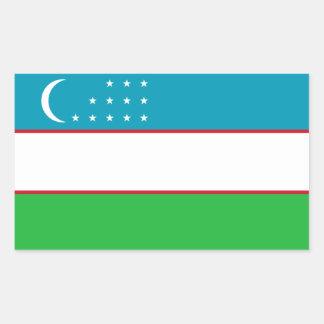 Uzbekistán Uzbek bandera de Uzbekistani Pegatina