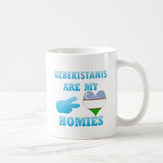 Uzbekistanis are my Homies Mugs