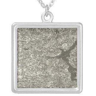 Uzel Square Pendant Necklace