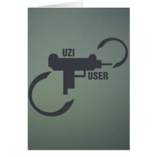 UZI 9MM. CARD