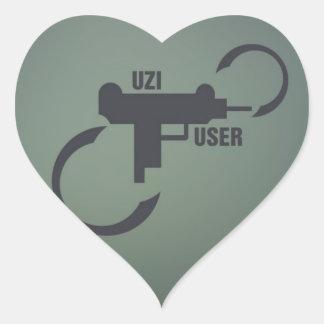UZI 9MM. STICKERS