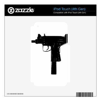 uzi decals for iPod touch 4G