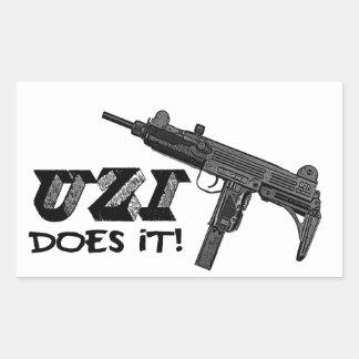 UZI does it! Sticker
