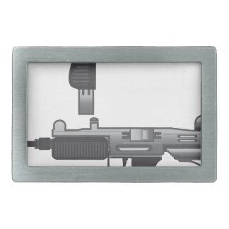 Uzi Gun vector Belt Buckle