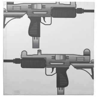 Uzi Gun vector Cloth Napkin