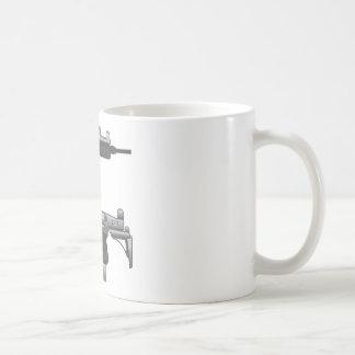 Uzi Gun vector Coffee Mug