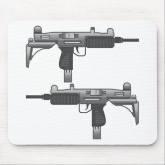 Uzi Gun vector Mouse Pad