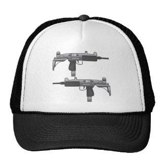 Uzi Gun vector Trucker Hat