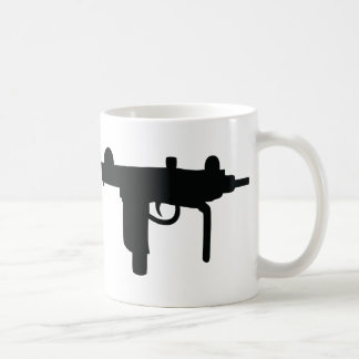 Uzi gun weapon icon coffee mug