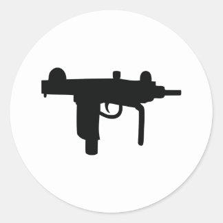 Uzi gun weapon icon stickers