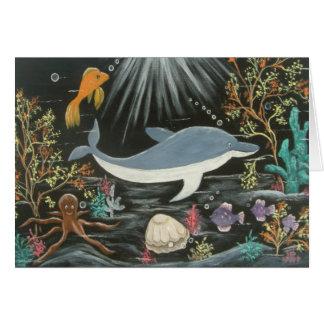 Uzi the Dolphin Card
