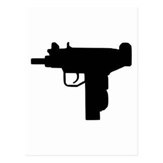 Uzi - Weapon Postcard