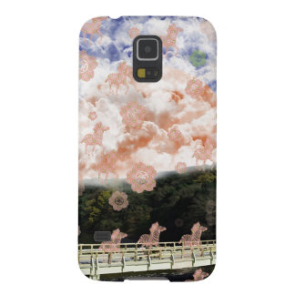 Uzibasi and cherry tree and stripe stripe galaxy s5 case