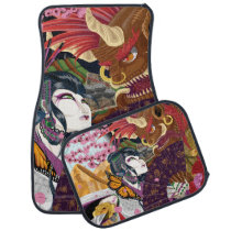 Uzumi And The Oni Car Mats Set Of 4