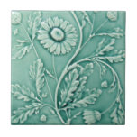 """V0021 Victorian Antique Reproduction Ceramic Tile<br><div class=""""desc"""">Historical antique tile reproduced on a smooth surface 4.25&quot; or 6&quot; ceramic tile. Perfect for interior tile wall accents, backsplashes, fireplace surrounds, bathroom and showers walls, kitchens and craft projects. Not intended for outdoor use. Our tiles are copies of costly authentic original antique tiles. Suggestion: Order one tile to review...</div>"""