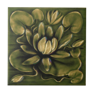V0028 Victorian Antique Reproduction Ceramic Tile