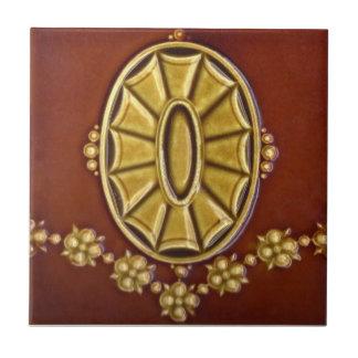 V0036 Victorian Antique Reproduction Ceramic Tile