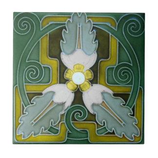 V0068 Victorian Antique Reproduction Ceramic Tile
