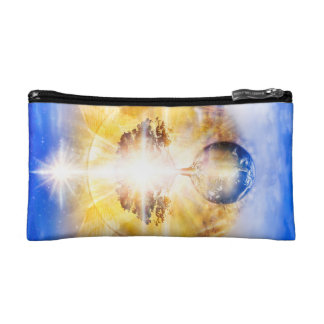V026- Tree of Light Wings Makeup Bag