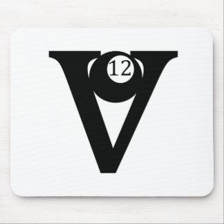 V12 Truck Logo Mousepads