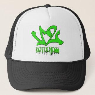 V2 Moto X Green Trucker Hat
