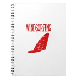 v2 texto rojo windsurfing sport.png libro de apuntes con espiral