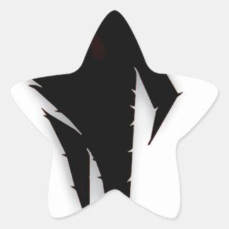 V5 Logo (Black) Star Sticker