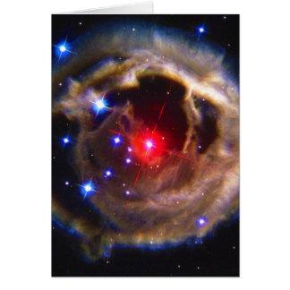 V838 Monocerotis Hubble Space Telescope Card