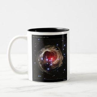V838 Monocerotis Light Echo (Left) Two-Tone Coffee Mug