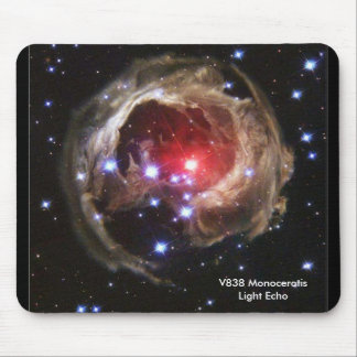 V838 Monocerotis Light Echo Mousepad