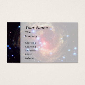 V838 Monocerotis Star (Hubble Telescope) Business Card