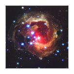 V838 Monocerotis Star (Hubble Telescope) Gallery Wrapped Canvas