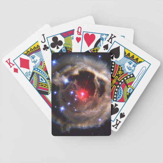 V838 Monocerotis star NASA Bicycle Playing Cards