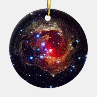 V838 Monocerotis star NASA Ceramic Ornament
