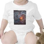 V838 Monocerotis Star Original Space Art Painting Shirts