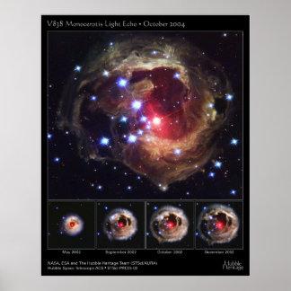 V838-MonocerotisLightEcho-2005-02 Poster