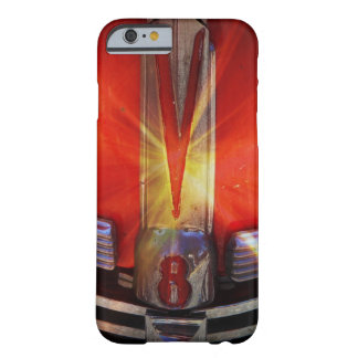 V8 Chrome Emblem on Hotrod Barely There iPhone 6 Case