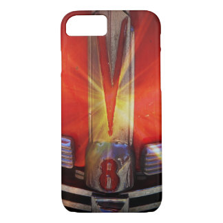 V8 Chrome Emblem on Hotrod iPhone 7 Case