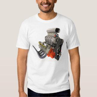 V8 Engine Poleras