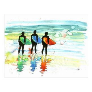 V.1 que practica surf ido postal