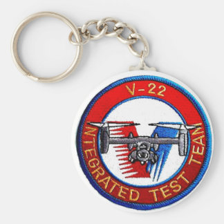 V-22 INTEGRATED TEST TEAM KEYCHAIN