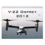 V-22 Osprey 2012 Calendar