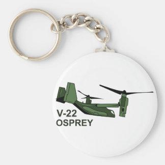 V-22 Osprey Basic Round Button Keychain