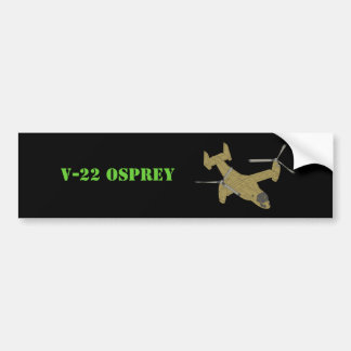 V-22 Osprey Plane Aircraft Art Design Bumper Sticker