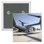 V-22 Osprey tiltrotor aircraft 2 2 Inch Square Button