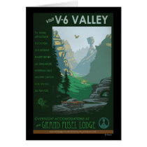 V-6 Valley Illustration Card