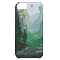 V-6 Valley Illustration iPhone 5C Cover